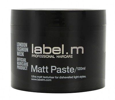 Label.m Matt Paste - Ultra Matt Texturiser For Dishevelled Light Styles 120ml