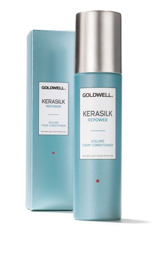 Goldwell /Kerasilk Repower - Volume Foam Conditioner With Brilliant Color Protection 150ml