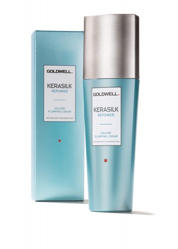 Goldwell /Kerasilk Repower - Volume Plumping Cream With Brilliant Color Protection 75ml