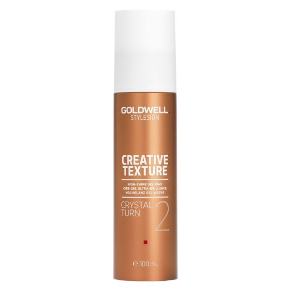 Goldwell Stylesign Creative Texture High Shine Gel Wax Crystal Turn 2
