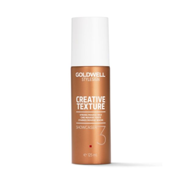 Goldwell Stylesign Creative Texture Strong Mousse Wax Showcaser 3
