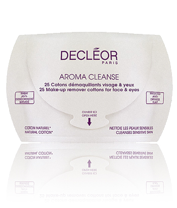 AROMA CLEANSE - 25 MAKE-UP REMOVER COTTONS FOR FACE & EYES