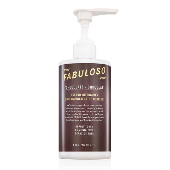 EVO - Fabuloso Pro Chocolate Colour Intensifier 500ml - Dung dịch tăng cường màu socola