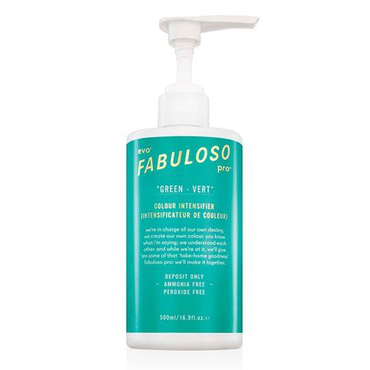 EVO - Fabuloso Pro Green Colour Intensifier 500ml - Dung dịch tăng cường màu xanh lá cây