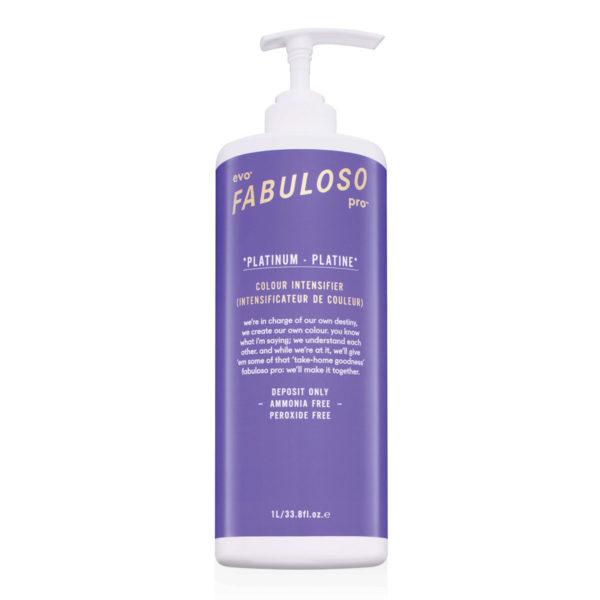 EVO - Fabuloso Pro Platinum Colour Intensifier 1 liter - Dung dịch tăng cường màu bạch kim