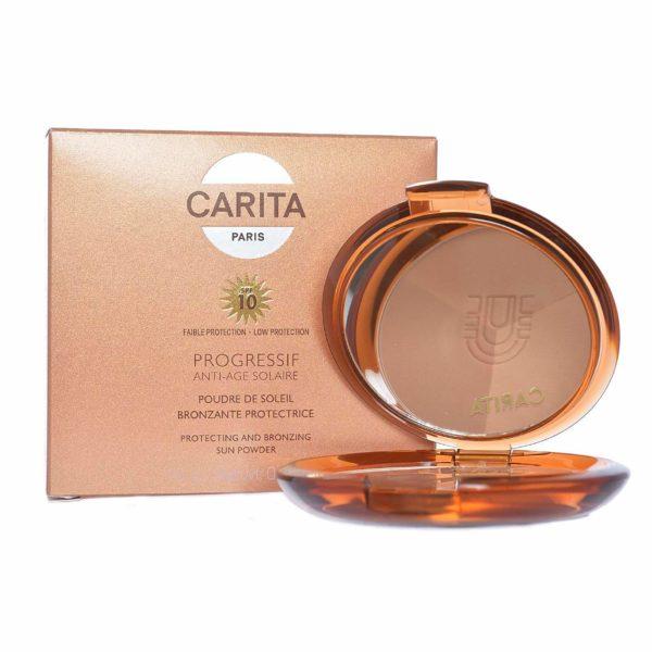 CARITA Paris Progressif Anti Age Solaire Protecting And Bronzing Sun Powder SPF10